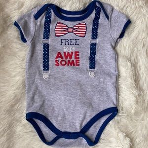 Free to be Awesome Patriotic Bodysuit